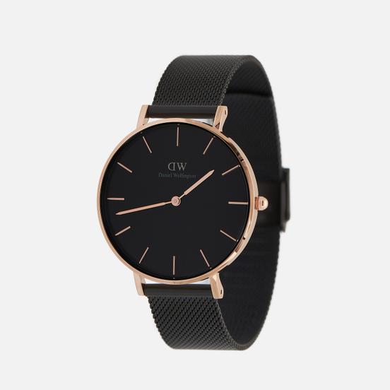 Наручные часы Daniel Wellington Petite Ashfield Black/Rose Gold/Black