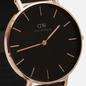 Наручные часы Daniel Wellington Petite Ashfield Black/Rose Gold/Black фото - 2