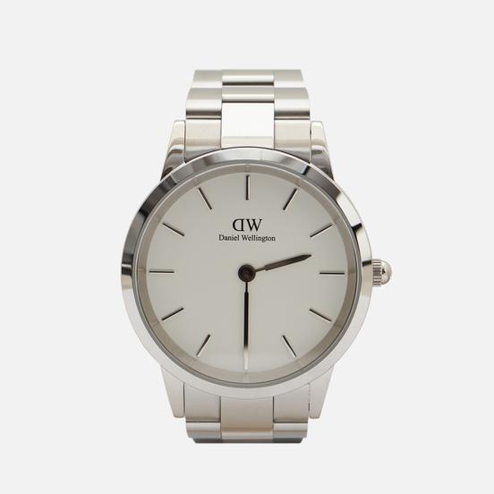 Наручные часы Daniel Wellington Iconic Link Silver/Silver/White