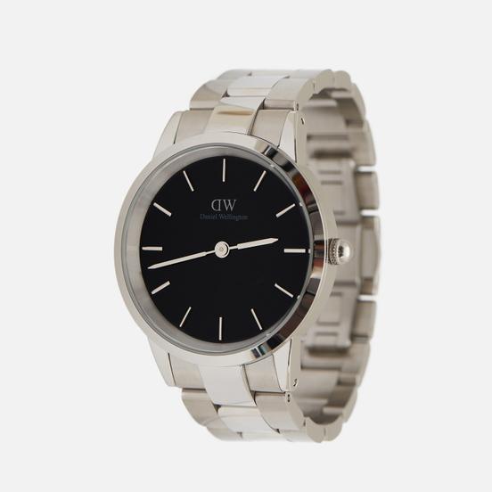 Наручные часы Daniel Wellington Iconic Link Silver/Silver/Black