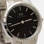 Наручные часы Daniel Wellington Iconic Link Silver/Silver/Black фото - 2