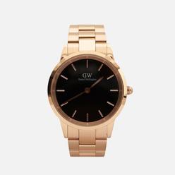 Наручные часы Daniel Wellington Iconic Link Rose Gold/Rose Gold/Black