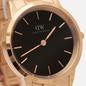 Наручные часы Daniel Wellington Iconic Link Rose Gold/Rose Gold/Black фото - 2