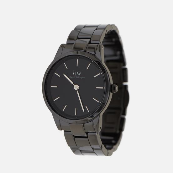 Наручные часы Daniel Wellington Iconic Link Ceramic Black/Black