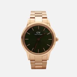 Наручные часы Daniel Wellington Iconic Link Emerald Rose Gold/Rose Gold/Green