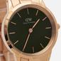 Наручные часы Daniel Wellington Iconic Link Emerald Rose Gold/Rose Gold/Green фото - 2