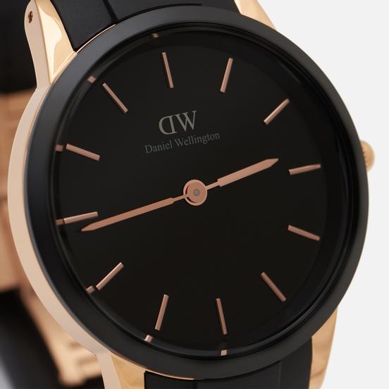 Наручные часы Daniel Wellington Iconic Motion Black/Rose Gold/Black