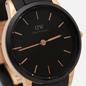 Наручные часы Daniel Wellington Iconic Motion Black/Rose Gold/Black фото - 2