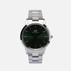 Наручные часы Daniel Wellington Iconic Link Emerald Silver/Silver/Green