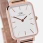 Наручные часы Daniel Wellington Quadro Pressed Melrose Rose Gold/Rose Gold/White фото - 2
