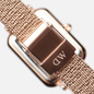 Наручные часы Daniel Wellington Quadro Pressed Melrose Rose Gold/Rose Gold/White фото - 3