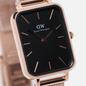 Наручные часы Daniel Wellington Quadro Pressed Melrose Rose Gold/Rose Gold/Black фото - 2