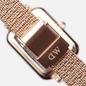 Наручные часы Daniel Wellington Quadro Pressed Melrose Rose Gold/Rose Gold/Black фото - 3