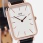 Наручные часы Daniel Wellington Quadro Pressed Sheffield Black/Rose Gold/White фото - 2