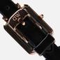 Наручные часы Daniel Wellington Quadro Pressed Sheffield Black/Rose Gold/Black фото - 3