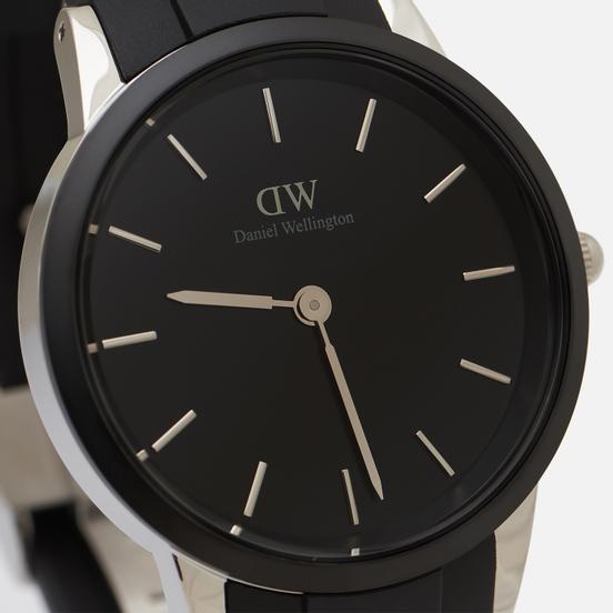 Наручные часы Daniel Wellington Iconic Motion Black/Silver/Black