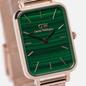 Наручные часы Daniel Wellington Quadro Pressed Melrose Rose Gold/Rose Gold/Green фото - 2