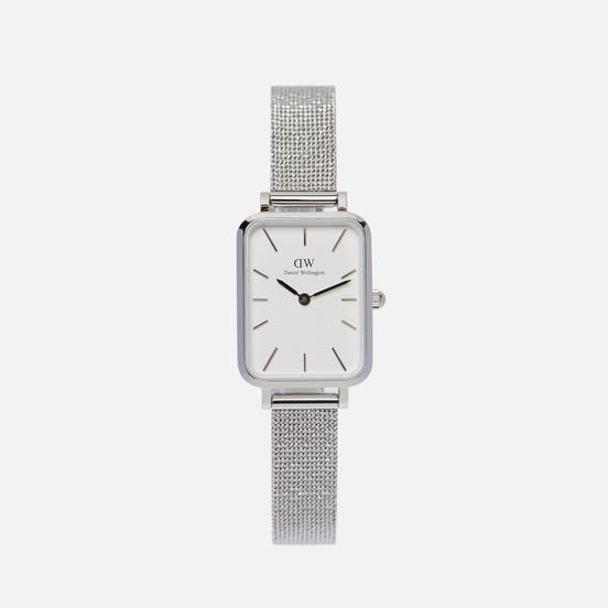 Наручные часы Daniel Wellington Quadro Pressed Sterling Silver/Silver/White