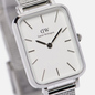 Наручные часы Daniel Wellington Quadro Pressed Sterling Silver/Silver/White фото - 2