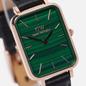 Наручные часы Daniel Wellington Quadro Pressed Sheffield Black/Rose Gold/Green фото - 2