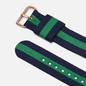 Ремешок для часов Daniel Wellington Classic Warwick Rose Gold/Blue/Green фото - 1