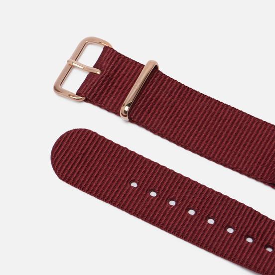Ремешок для часов Daniel Wellington Classic Roselyn Rose Gold/Ruby Red