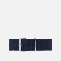Ремешок для часов Daniel Wellington Classic Bayswater Silver/Blue