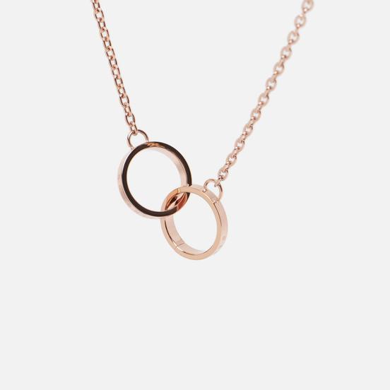 Колье Daniel Wellington Elan Unity Necklace Rose Gold