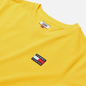 Женская футболка Tommy Jeans Tommy Badge Cropped Fit Star Fruit Yellow фото - 1