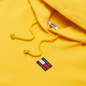 Женская толстовка Tommy Jeans Tommy Badge Organic Cotton Hoodie Star Fruit Yellow фото - 1