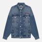 Женская джинсовая куртка Tommy Jeans Denim Oversized Fit Trucker Save Pf Mid Blue Rigid фото - 0
