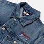 Женская джинсовая куртка Tommy Jeans Denim Oversized Fit Trucker Save Pf Mid Blue Rigid фото - 1