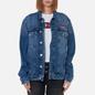 Женская джинсовая куртка Tommy Jeans Denim Oversized Fit Trucker Save Pf Mid Blue Rigid фото - 2