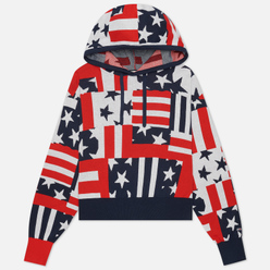 Женская толстовка Tommy Jeans Stars And Stripes Oversized Fit Star Stripe Print