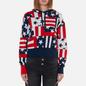 Женская толстовка Tommy Jeans Stars And Stripes Oversized Fit Star Stripe Print фото - 2