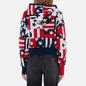 Женская толстовка Tommy Jeans Stars And Stripes Oversized Fit Star Stripe Print фото - 3