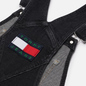 Женское платье Tommy Jeans Heritage Recycled Denim Dungaree Save Pf Black Comfort фото - 2