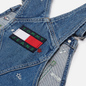 Женское платье Tommy Jeans Recycled Denim Embroidery Dungaree Star Critter Blue Rigid фото - 2