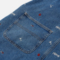 Женское платье Tommy Jeans Recycled Denim Embroidery Dungaree Star Critter Blue Rigid фото - 3