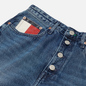 Женские джинсы Tommy Jeans Mom Tapered Recycled High Rise Save Pf Mid Blue Rigid фото - 1