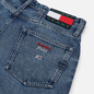 Женские джинсы Tommy Jeans Mom Tapered Recycled High Rise Save Pf Mid Blue Rigid фото - 2