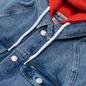 Женская джинсовая куртка Tommy Jeans Hoody Neck Cropped Denim Marcia Mid Blue Rigid фото - 1
