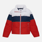 Женский пуховик Tommy Jeans Colour-Blocked Recycled Polyester Puffer Twilight Navy/Multi фото - 0
