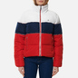 Женский пуховик Tommy Jeans Colour-Blocked Recycled Polyester Puffer Twilight Navy/Multi фото - 2