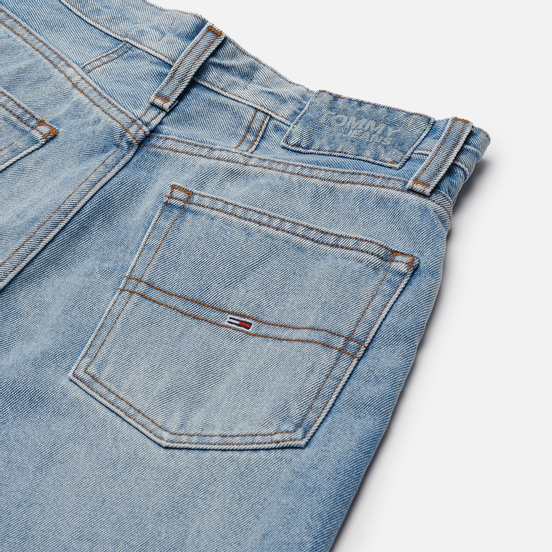 Женские джинсы Tommy Jeans Mom Super High Rise Tapered Light Blue