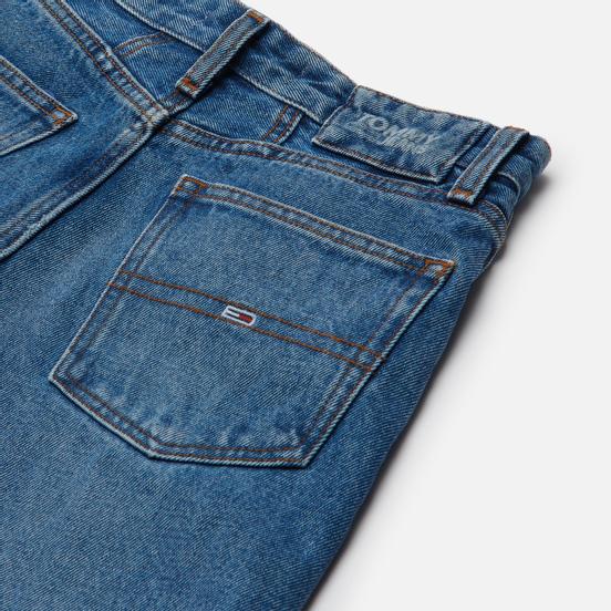 Женские джинсы Tommy Jeans Mom Ultra High Rise Tapered Mid Blue Rigid