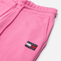 Женские брюки Tommy Jeans Tommy Badge Relaxed Fit Joggers Pink Daisy фото - 1