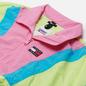 Женская куртка ветровка Tommy Jeans Colour-Blocked Tommy Badge Windbreaker Faded Lime/Multi фото - 1