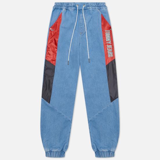 Женские джинсы Tommy Jeans High Rise Elasticated Denim 12.1 Oz Fame Mix Light Blue Rigid