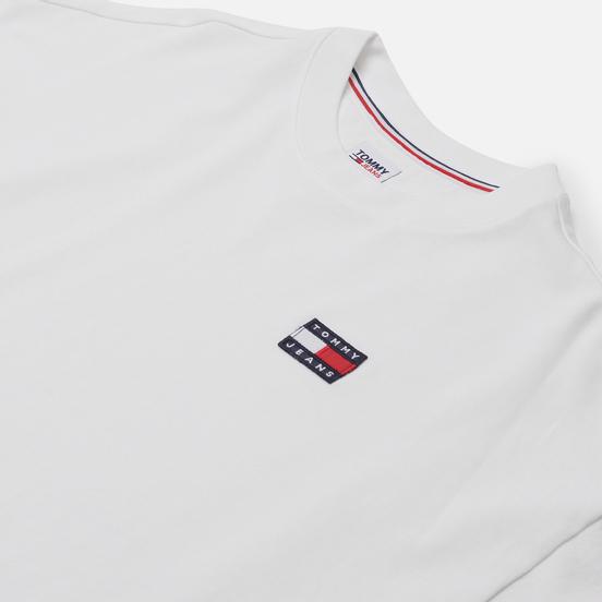 Женское платье Tommy Jeans Tommy Badge Oversized White